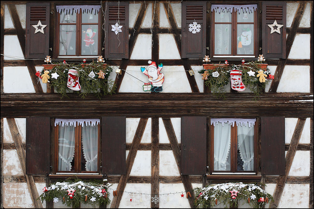 Decoration Noel Alsace Modele